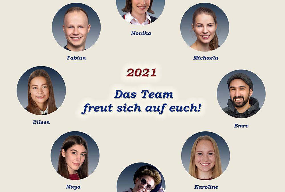 Das Tanzschul-Team 2021
